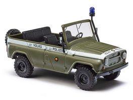 Busch 52105 UAZ 469 Volkspolizei 1 87