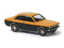 BUSCH 42110 Opel Kadett C Zweifarbig Orange 1 87