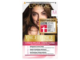 L OREAL PARIS EXCELLENCE Creme 4 3 Goldbraun