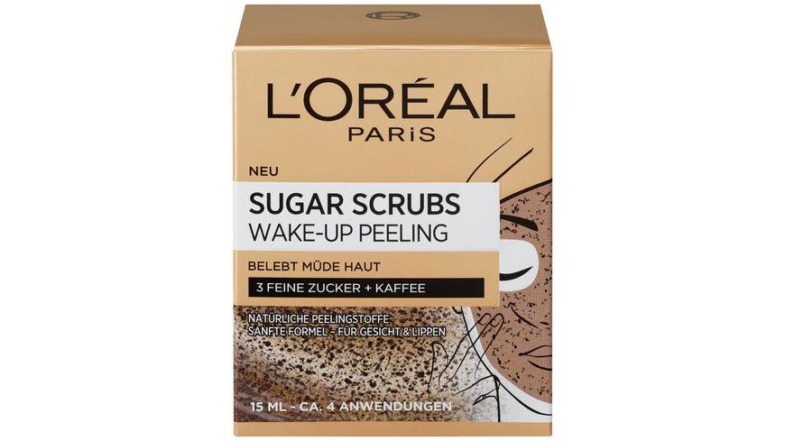 Sugar Scrubs Verwoehnendes Gesichtspeeling