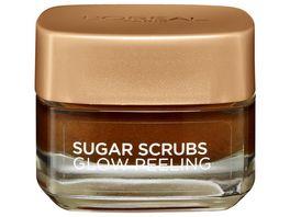 L Oreal Paris Sugar Scrubs Glow Gesichtspeeling