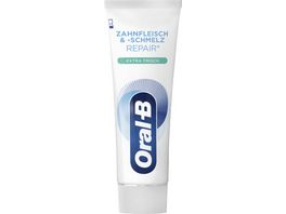 Oral B Manual Zahnpasta Zahnfleisch schmelz Extra Fresh