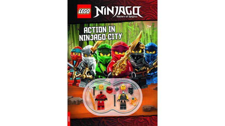 LEGO NINJAGO Action in Ninjago City