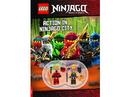 LEGO NINJAGO Action in Ninjago City