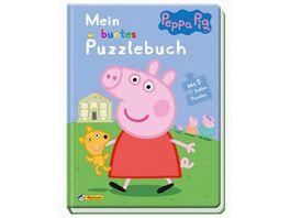 Peppa Mein buntes Puzzlebuch Mit 5 tollen Puzzles