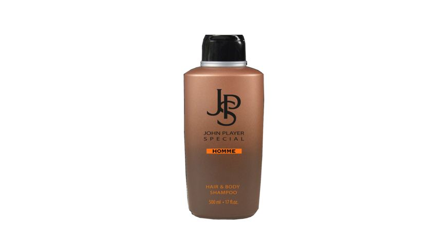 JPS John Player Special HOMME Hair Body Shampoo