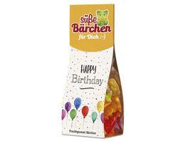 Geschenk fuer Dich Suesses Baerchen Happy Birthday