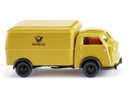 WIKING 0335 03 Tempo Matador Kastenwagen Deutsche Post 1 87