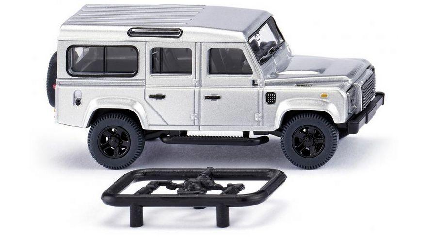 WIKING 010203  Land Rover Defender 110   silber