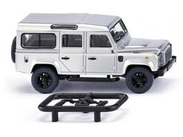 WIKING 010203 Land Rover Defender 110 silber