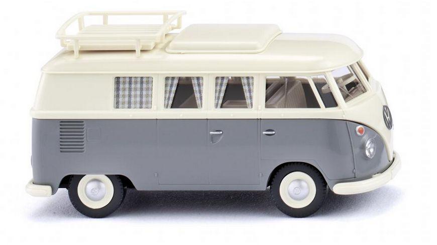 WIKING 079724 VW T1 Campingbus perlweiss grau 1 87