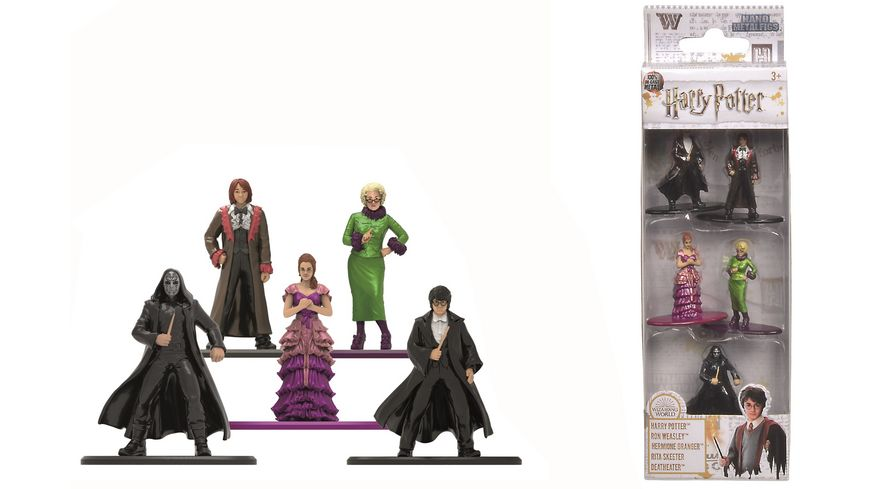 Dickie 253180003 Harry Potter Metall Figuren Set 5 er Pack