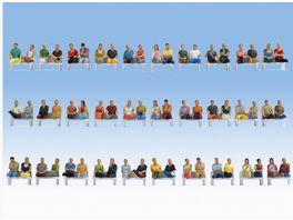 NOCH 16072 H0 Mega Spar Set Sitzende Passagiere
