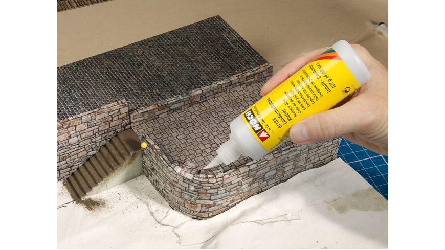 NOCH 56605 H0 3D Kartonplatte Ziegel