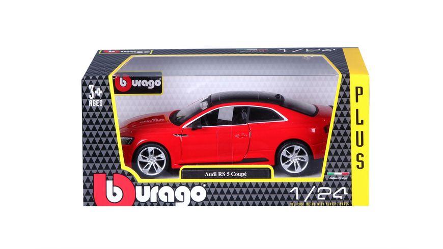 Bburago 1 24 Audi RS 5 Coupe rot