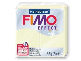 STAEDTLER Fimo effect Ofenhaertende Modelliermasse nachtleuchtend