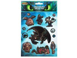 Undercover Dragons Stickerheft 2019 8 Blatt