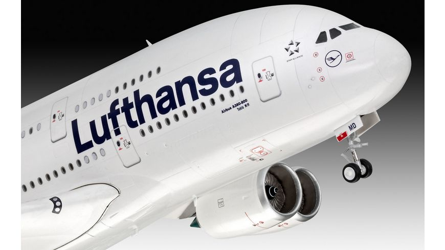 Revell 03872 Airbus A380 800 Lufthansa New Livery