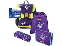 Step by Step TOUCH 2 DIN Schulranzen Set Pegasus Dream 4 teilig