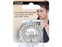 New Flag Invisibobble Power Haargummi Crystal Clear