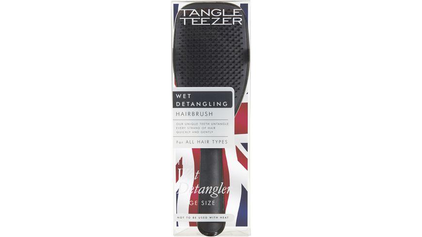 New Flag Tangle Teezer The Wet Detangler Black