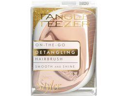 Tangle Teezer Compact Styler Haarbuerste Rose Gold Cream