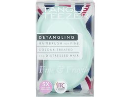 New Flag Tangle Teezer Haarbuerste Fine Fragile Mint