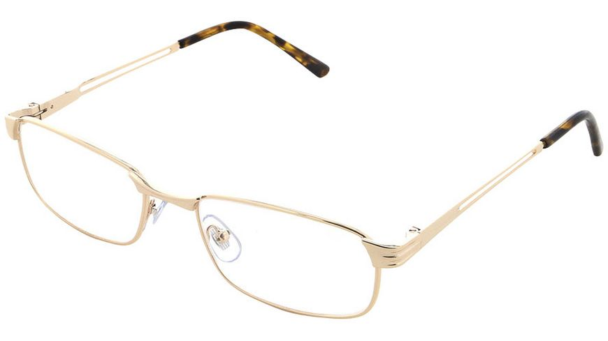 Quickreader Lesehilfe MLH059-1 +2.50 Metall Gold