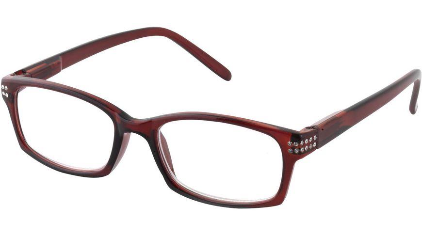 Quickreader Lesehilfe KLH142-1+2.00 Kunststoff Rot + Steine