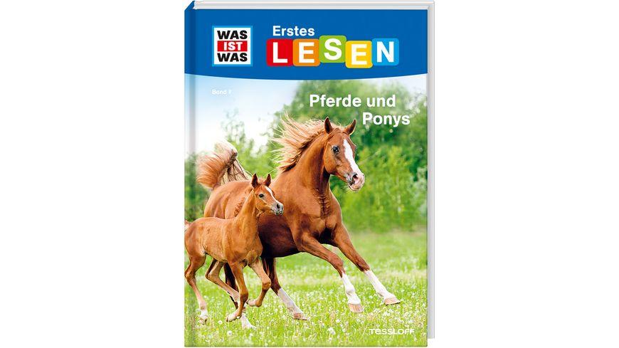 WAS IST WAS Erstes Lesen Band 7 Pferde und Ponys