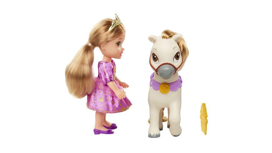 Jakks Pacific Disney Prinzessin Rapunzel mit Pony 15 cm