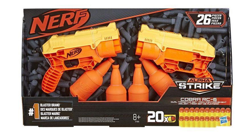 Hasbro Nerf Alpha Strike Cobra RC6 Blaster Doppelpack
