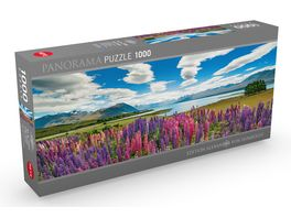 Heye Panoramapuzzle 1000 Teile Alexander von Humboldt Lake Tekapo