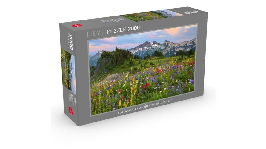 Heye 2000 Teile Puzzle Alexander von Humboldt Tatoosh Mountains