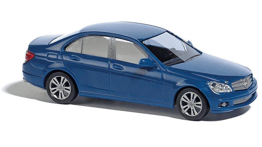 BUSCH 89139 Mercedes Benz C Klasse blau 1 87