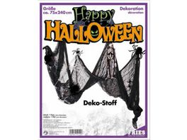 FRIES 54155 HALLOWEEN DEKOSTOFF SCHWARZ