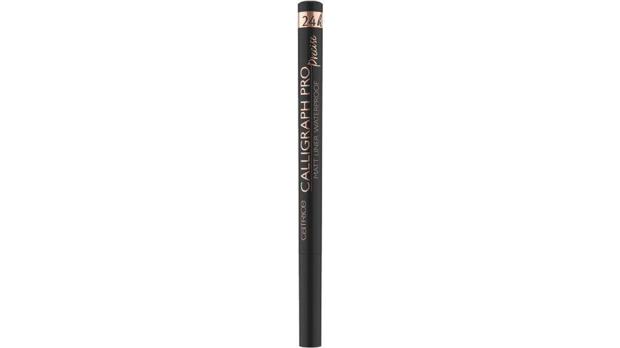 Catrice Eyeliner Calligraph Pro Precise 24h Matt Liner Waterproof Intense Black Waterproof