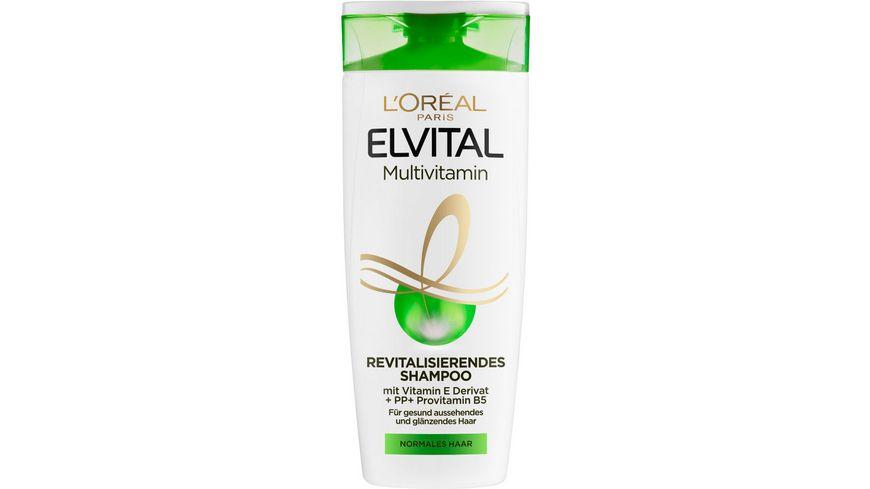 L OREAL PARIS ELVITAL Multivitamin Shampoo