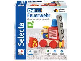 Selecta 62077 Klettini Feuerwehr Klett Stapelspielzeug