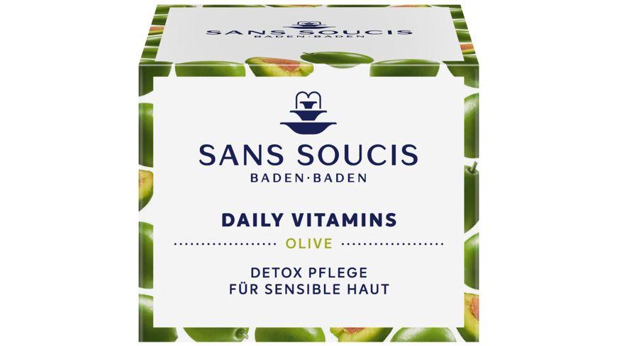 SANS SOUCIS Daily Vitamins Olive Detox Pflege