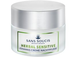 SANS SOUCIS Herbal Sensitive Johannis Creme Nachtpflege