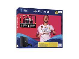 PS4 Konsole PRO 1 TB mit FIFA 20 PS4 P3