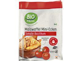 BIO PRIMO Maiswaffel Mini Ecken Tomate Basilikum