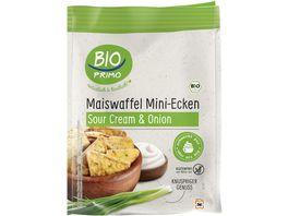 BIO PRIMO Bio Mini Maiswaffeln mit Sour Cream