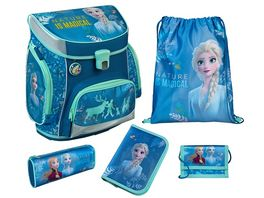 Scooli CAMPUS FIT PRO Schulranzen Set 6teilig Frozen 2