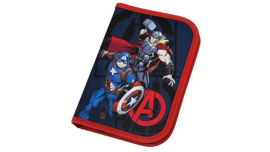 Scooli CAMPUS FIT PRO Schulranzen Set 6teilig Avengers