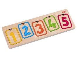 HABA Holzpuzzle Erste Zahlen