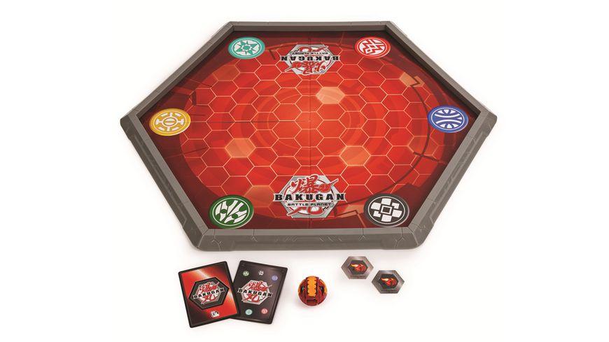 Spin Master Bakugan Battle Arena Spielfeld fuer Bakugan Fans mit exklusivem Bakugan
