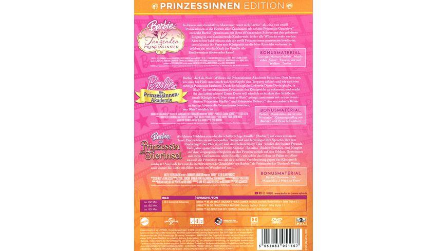 Barbie Prinzessinnen Edition 3 DVDs