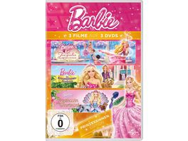 Barbie Prinzessinnen Edition 3 DVDs